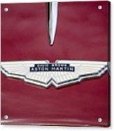 1957 Aston Martin Acrylic Print