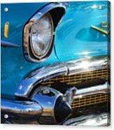 1957 Chevrolet Belair Grille Acrylic Print