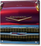 1957 Chevrolet Grille Acrylic Print