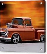 1957 Chevrolet Stepside Pickup Ll Acrylic Print
