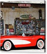 1957 Corvette Hackberry Arizona Acrylic Print