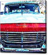 1957 Ford Fairlane Acrylic Print