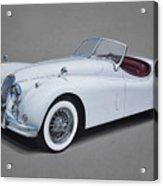 1957 Jaguar Xk140 Acrylic Print