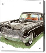 1957 Lincoln Continental Mk II Acrylic Print