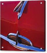1957 Oldsmobile Hood Ornament 4 Acrylic Print