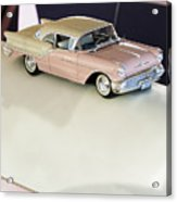 1957 Oldsmobile Super 88 Matchbox Car Acrylic Print