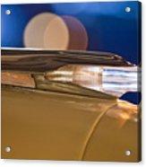 1957 Pontiac Bonneville Hood Ornament - Fender Spear Acrylic Print