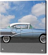1958 Buick Roadmaster 75 Acrylic Print