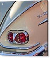 1958 Chevrolet Belair Taillight Acrylic Print
