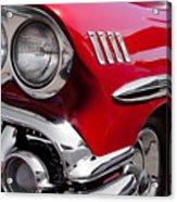 1958 Chevy Impala Acrylic Print
