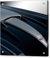 1958 Corvette 'big Block' Hood Acrylic Print