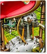 1958 Ducati 175 F3 Race Motorcycle -2119c Acrylic Print