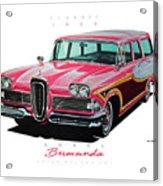 1958 Edsel Bermuda Acrylic Print