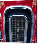 1958 Edsel Hood Ornament  Acrylic Print