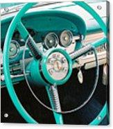 1958 Edsel Pacer Dash Acrylic Print