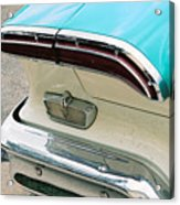 1958 Edsel Pacer Tail Light Acrylic Print