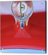 1958 Edsel Ranger Hood Ornament 2 Acrylic Print