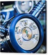 1958 Edsel Ranger Push Button Transmission Acrylic Print