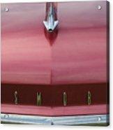 1958 Oldsmobile S-88 Hood Ornament 2 Acrylic Print