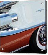 1958 Pontiac Bonneville Wheel Acrylic Print