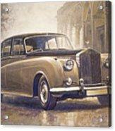 1959-62 Rolls-royce Silver Cloud II Acrylic Print