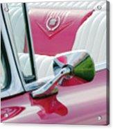 1959 Cadillac Eldorado Interior Acrylic Print