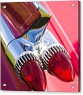 1959 Cadillac Eldorado Tail Fin 2 Acrylic Print