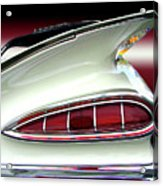 1959 Chevrolet Impala Tail Acrylic Print
