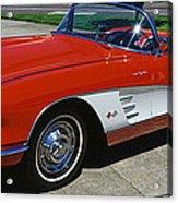 1959 Corvette Acrylic Print