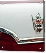 1959 Dodge Custom Royal Super D 500 Emblem Acrylic Print