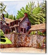 #196 Bourn Cottage Acrylic Print