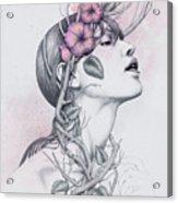 196 Acrylic Print by Diego Fernandez