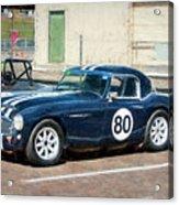 1960 Austin Healey 3000 Acrylic Print