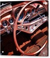 1960 Chevrolet Impala Convertible Acrylic Print