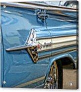 1960 Chevy Impala Acrylic Print