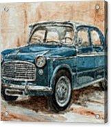 1960 Fiat 1100 103 H Acrylic Print
