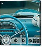 1960 Ford Thunderbird Dash Acrylic Print