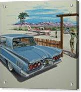 1960 Ford Thunderbird  Acrylic Print