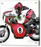 1960s Ducati Desmo Acrylic Print