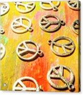 1960s Peace Movement Acrylic Print