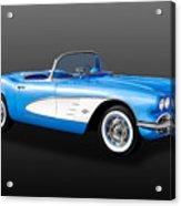 1961 C1 Chevrolet Corvette -  61chvetcv900 Acrylic Print