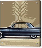 1961 Cadillac Fleetwood Sixty-special Acrylic Print by Bruce Stanfield