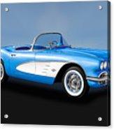 1961 Chevrolet C1 Corvette   -   61vettecv800 Acrylic Print