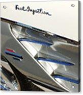 1961 Chevrolet Corvette Abstract Acrylic Print