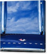 1961 Chevrolet Corvette Grille Acrylic Print