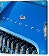 1961 Chevrolet Corvette Zob Grille Acrylic Print
