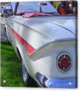 1961 Chevrolet Impala Convertible Acrylic Print