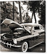 1951 Mercury Classic Car Photograph 006.01 Acrylic Print
