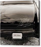 1951 Mercury Classic Car Photograph 018.01 Acrylic Print