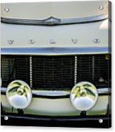 1961 Volvo Pv544 Grille Emblem -1511c Acrylic Print